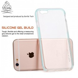 Coque IPhone 5/5S/SE Fluidy slim - Gorilla Tech - Différent coloris de contour