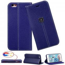 Etui IPhone 6/6S Elegance Gorilla Tech - Différent coloris