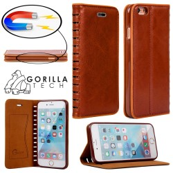 Etui IPhone 5/5S/SE Wallet Style - Gorilla Tech - Différent coloris