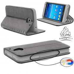 Etui Samsung Galaxy S7 Edge Wallet Style 2 - Gorilla Tech - Différent coloris