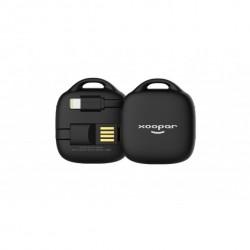 Batterie externe d'appoint Hug Booster de Xoopar - 500 mAh - Différent coloris