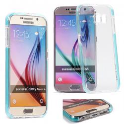Coque Samsung Galaxy S7 Fluidy slim - Gorilla Tech - Différent coloris de contour