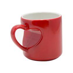 Mug magique In Love anse coeur 300 ml - Différent coloris